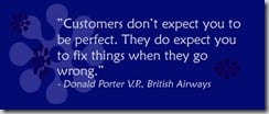 customer service quote by Salon de Maria