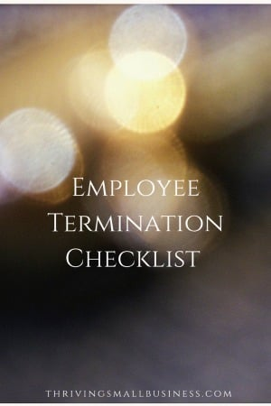 When employees leave an organization, it is important to wrap up issues and complete files on the terminating employee. There are things that need to be wrapped up, materials collected, forms signed and internet access disconnected.