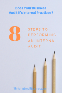 internal audit procedures
