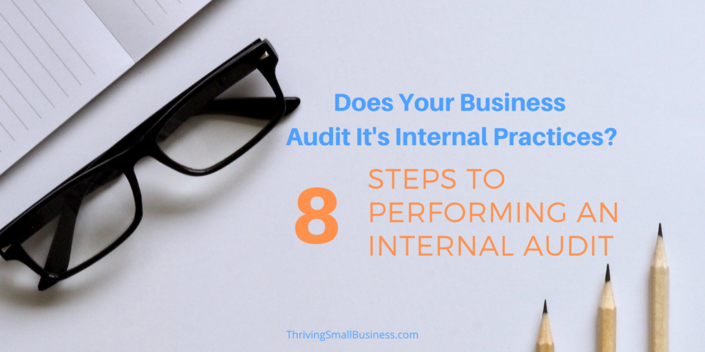 how to conduct an internal audit