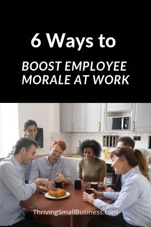 tips to boost employee morale