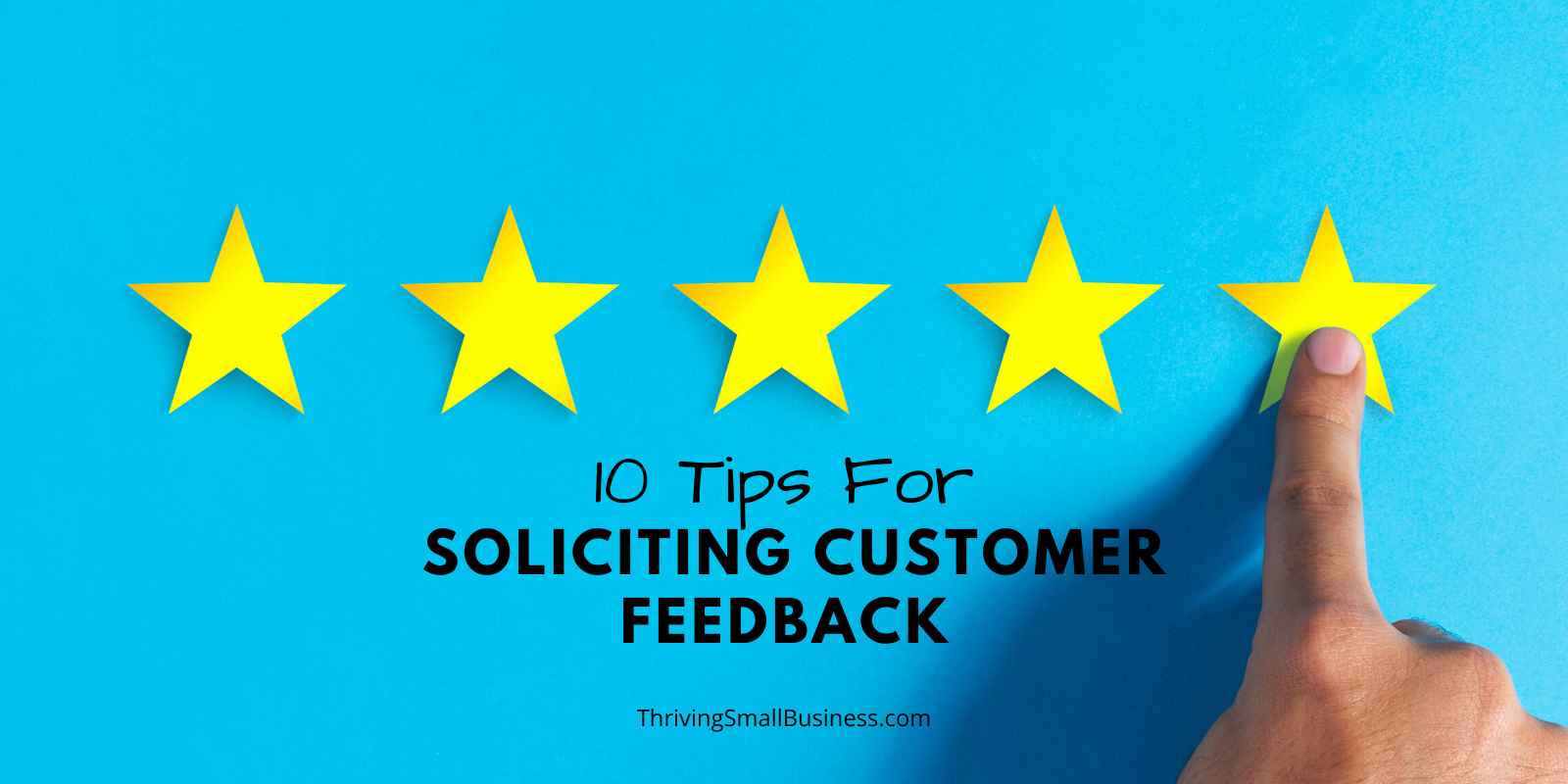 how to solicit customer feedback