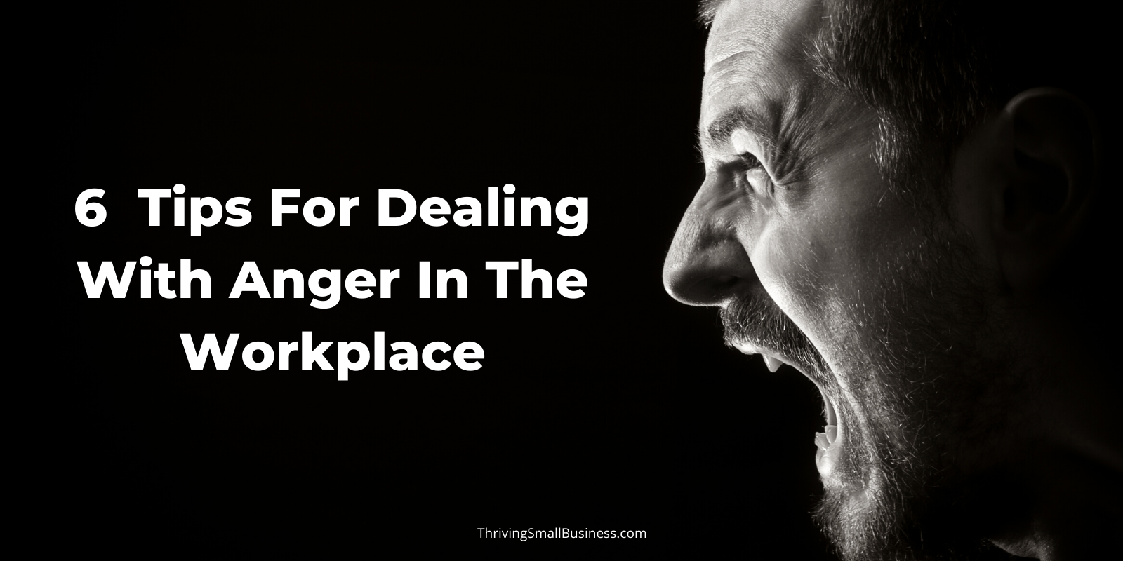 How to deal with anger in the workplace