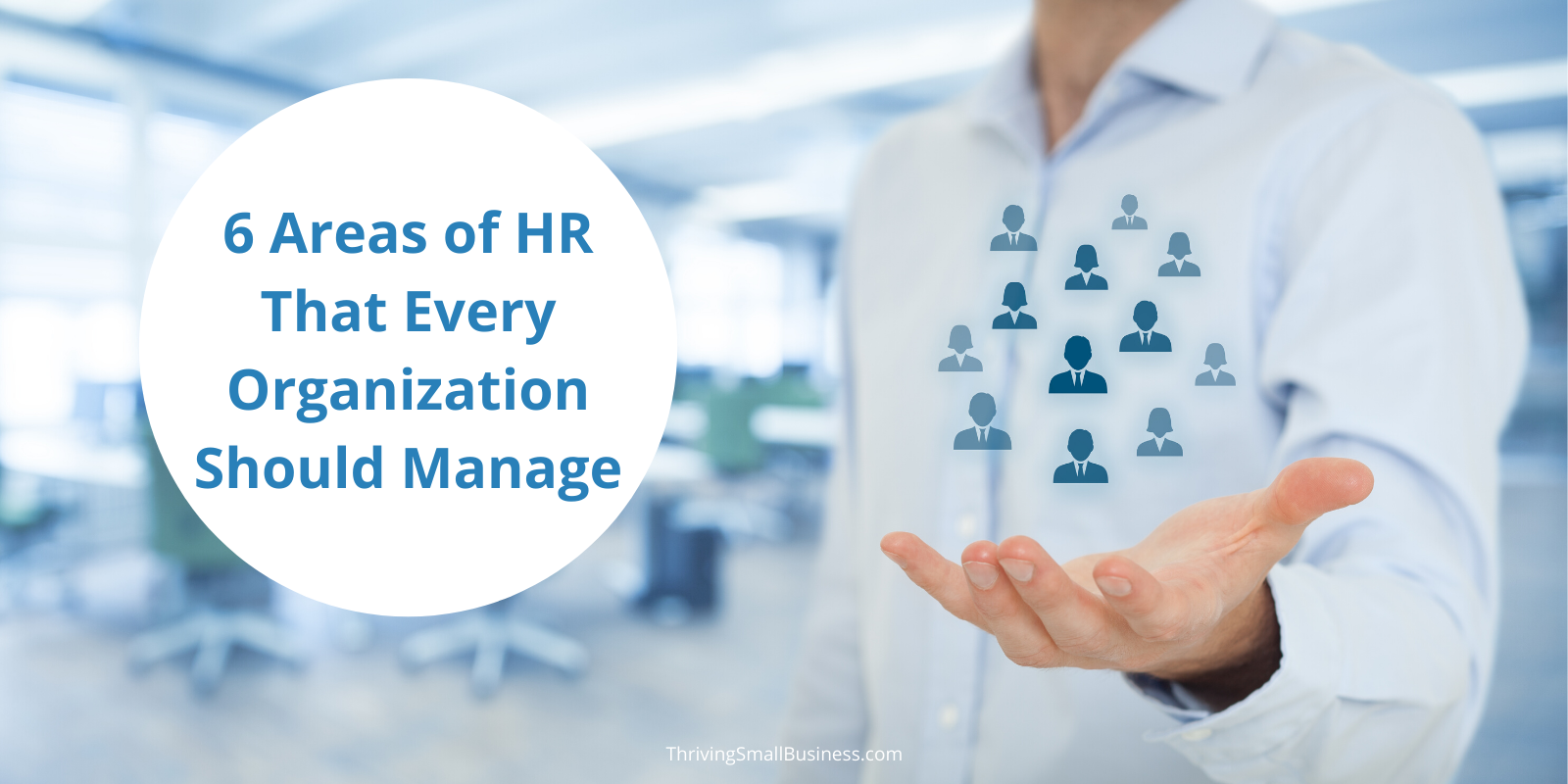 areas for hr to manage