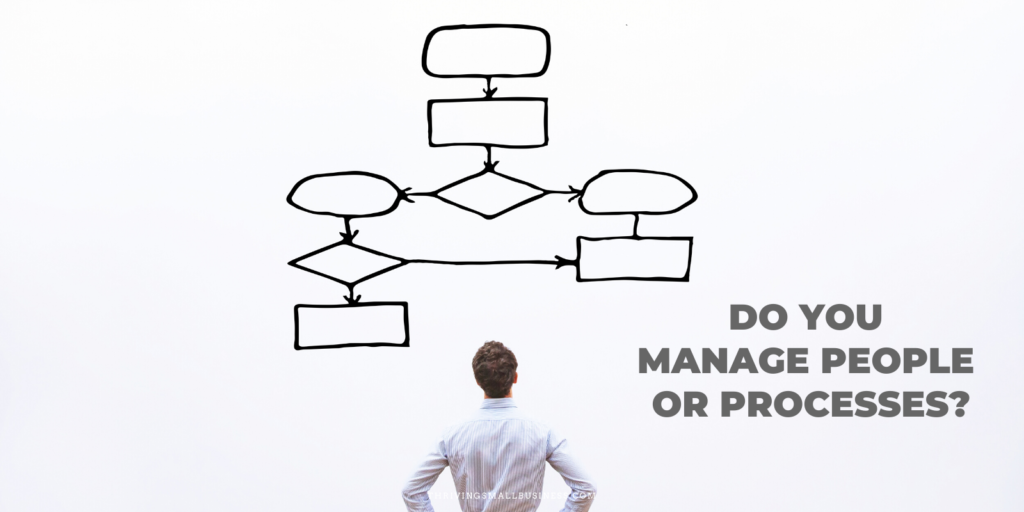 how to manage a process